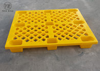 Nestable Stacking Hygienic Plastic Pallets For Export / Shipping P1210 Nine Foot