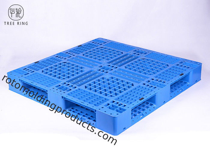 1212 Grid Reinforced Recycled Polyethylene Plastic Skids Open Deck For Factory