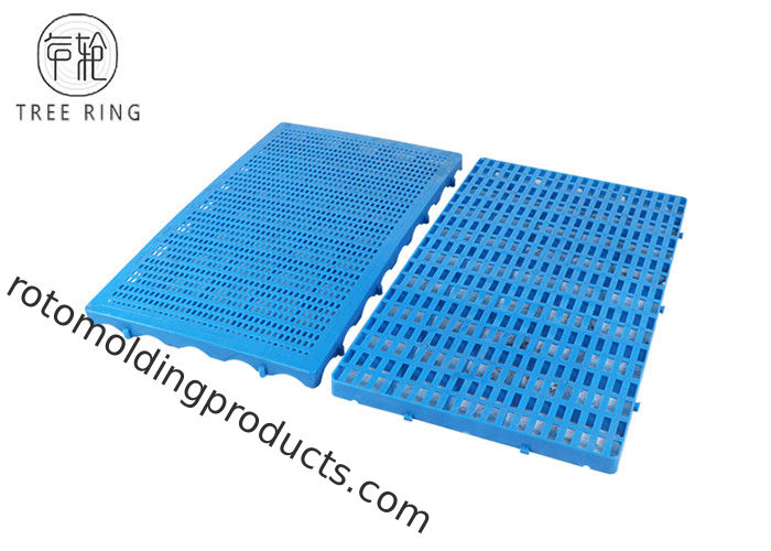 Thin Type Small Size Connected HDPE Plastic Pallets Mat Boards For Warehouse Floor